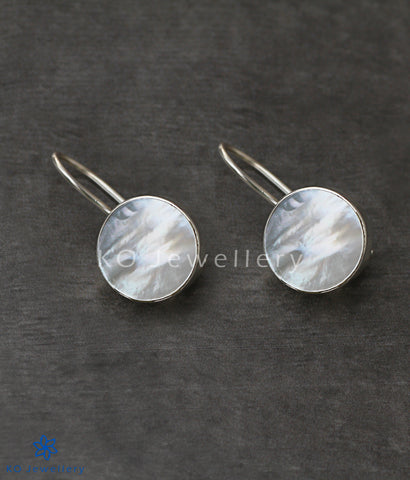 pure silver mother of pearl earrings shop online