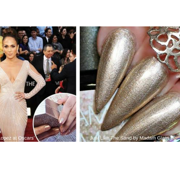 Nail polish on the Red Carpet