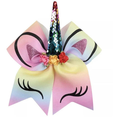 Image of Huge 8 inch Unicorn Bows | Oaklands, Moodbury Westfields