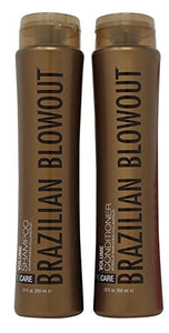 Brazilian Blowout Volume Shampoo - Conditioner Duo Set 12 Ounce
