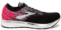 Brooks Women's Ricochet - Pink/Black/Aqua (1202821B678)