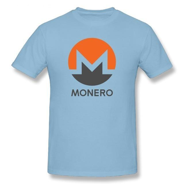 MONERO (XMR) T-Shirt (Various Colors)-Coindrobe