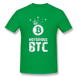 'The Notorious BTC' T-Shirt (Various Colors)-Coindrobe