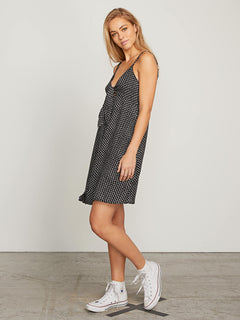 Try The Knot Dress In Black Combo, Alternate View