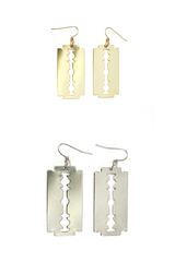 Razor blade earrings (N-TF) - ebrook lael