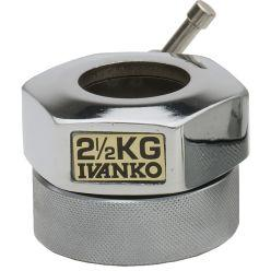 Ivanko Chrome 2.5kg Spin Lock Collars