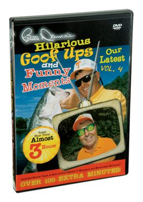 Bill Dance's Hilarious Goof Ups & Funny Moments DVD