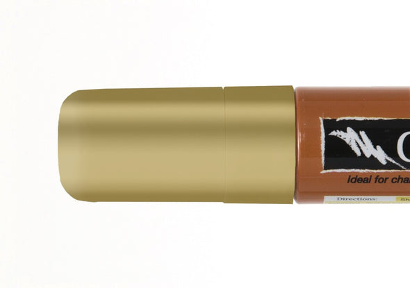 Image of the product 15mm Chalk Ink Metallic Solid Gold Dancer Wet Wipe Marker
