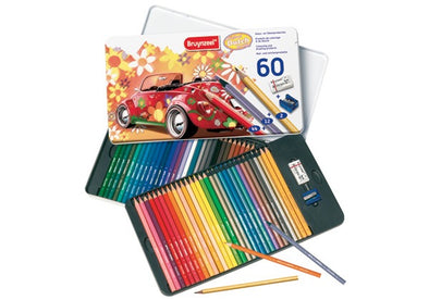 Image of the product Bruynzeel Sixties Beetles Tin Colored Pencils