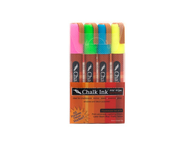 Image of the product 6mm Fluorescent 4 Pack Wet Wipe
