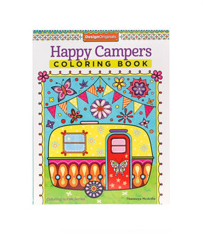 Image of the product Happy Campers Coloring Book