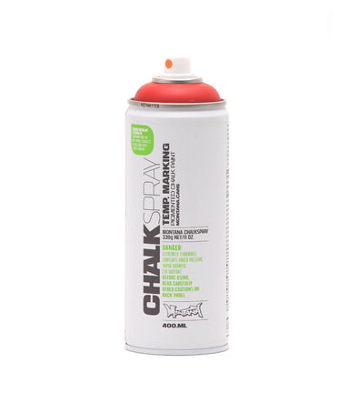 Image of the product Montana Chalk Spray Paint - Red