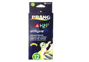 Image of the product Prang Groove Colored Pencils