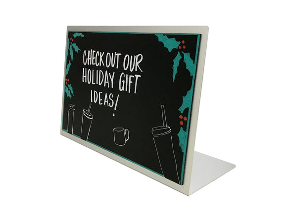 "17""W x 11""H Counter Top Chalkboard"