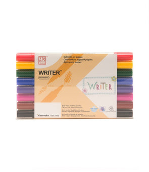Image of the product Zig Writer Dual Tipped Markers, Set of 8 Colors