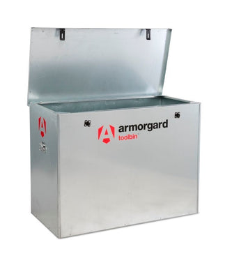 Armorgard GB3 Galvanised Tool Bin Storage Box 1190 x 585 x 850mm