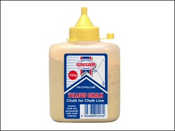 Chalk Powder 250g Yellow (FAITHFULL)