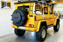 Load image into Gallery viewer, LeTech - Mercedes W463 G-Wagen Carbon Spare Tire Carrier