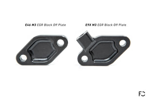 Future Classic E9X M3 EGR Block-Off Plate (by Fall-Line Motorsports)