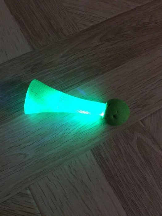 LED Bright Bouncing Cat Toy