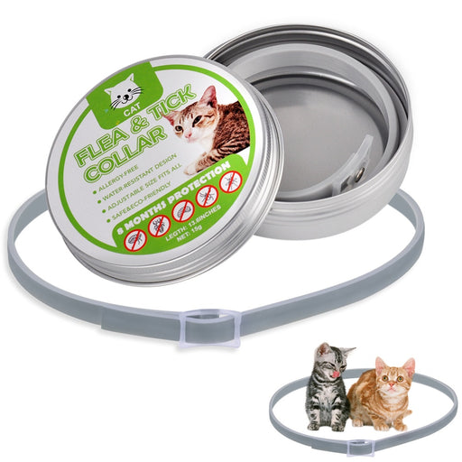 PetCaveCo Cat Collar Flea & Tick 8 Months Protection