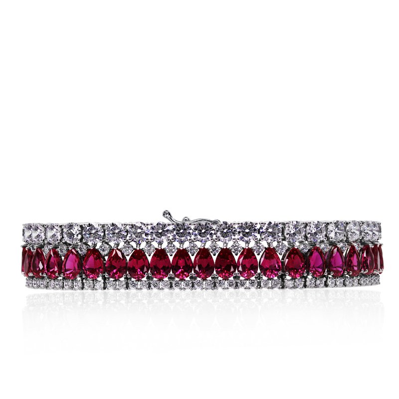 Phillipa Ruby Bracelet