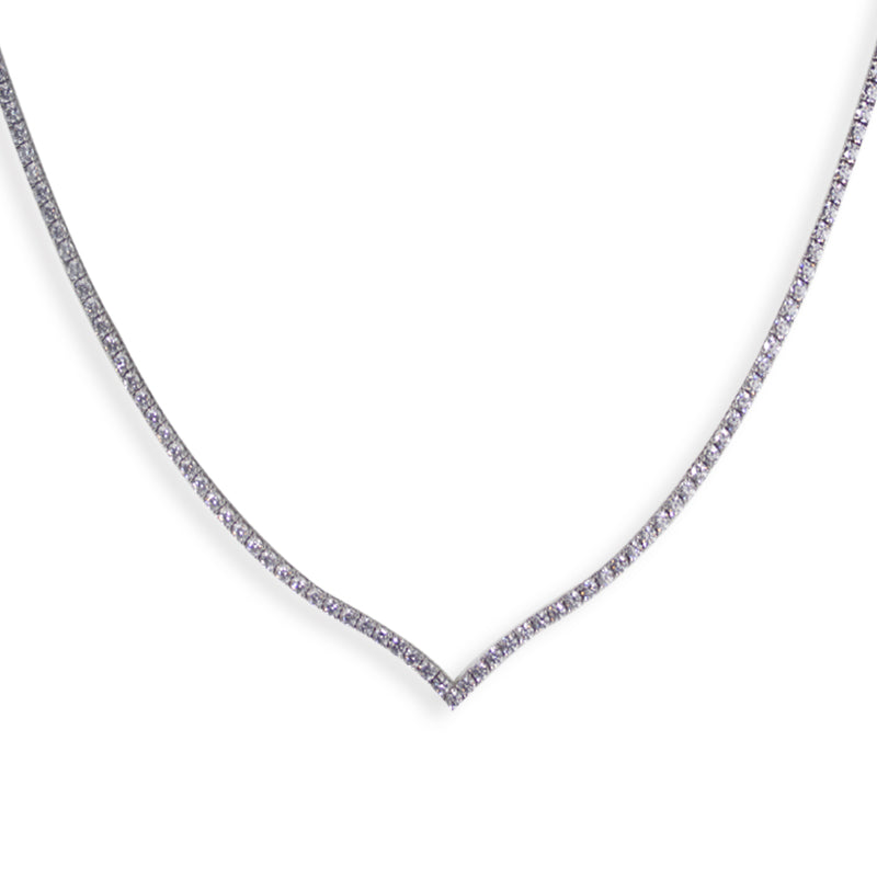 Eternal Necklace White Gold