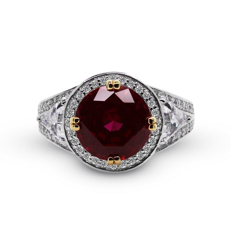 Ruby Deluxe Round Brilliant