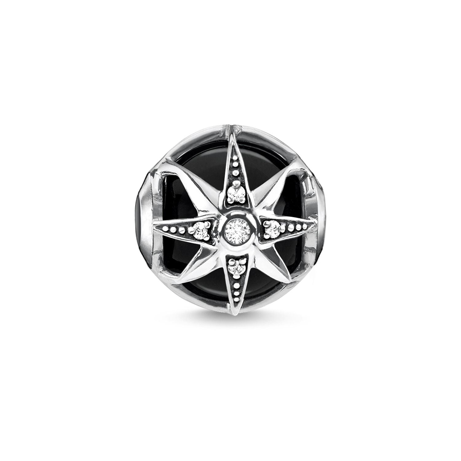 Thomas Sabo Karma Bead Royalty Star Black K0308-641-11