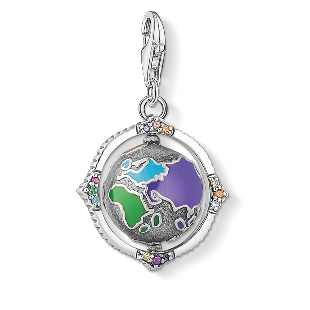 Thomas Sabo Charm Club Vintage Globe Colorful 1766-845-7