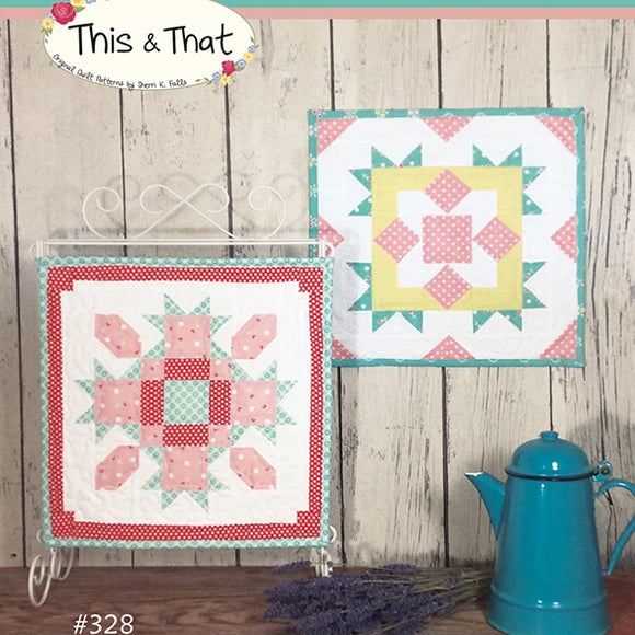Barn Block Mini Series Mar/Apr by This & That -  Paper Pattern Only LS 53