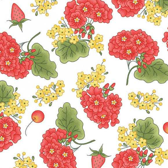 Back Porch Celebration Collection by Meg Hawkey  - Grandma's Garden - Yardage