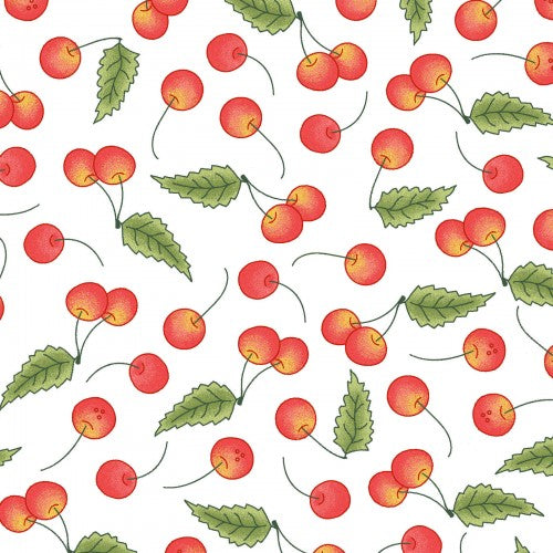 Back Porch Celebration Collection by Meg Hawkey - Cherries - Yardage
