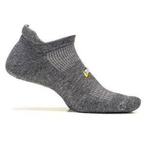 Feetures Ultra Light No Tab Heather Gray