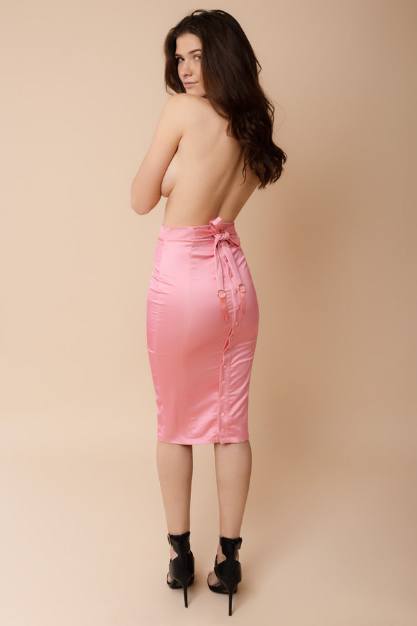 Domestic Skirt Pink | Murmur | Anya Lust