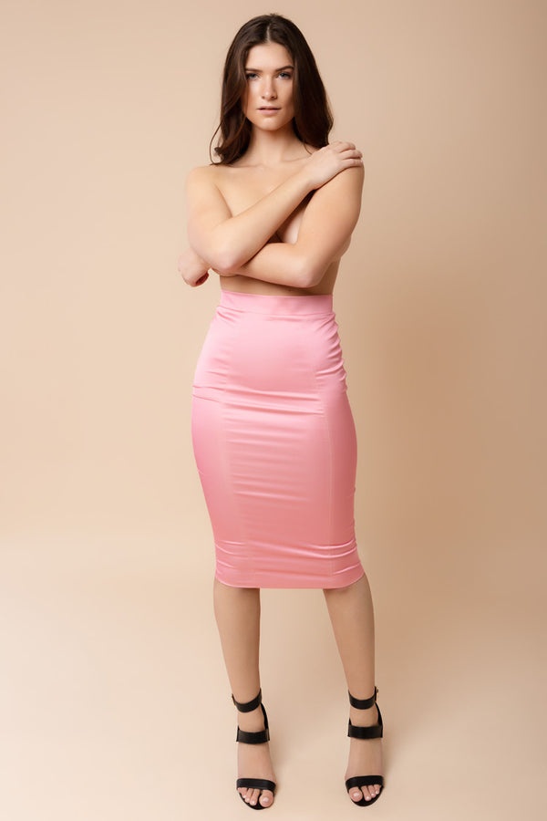 Domestic Skirt Pink | Murmur Clothing | Anya Lust