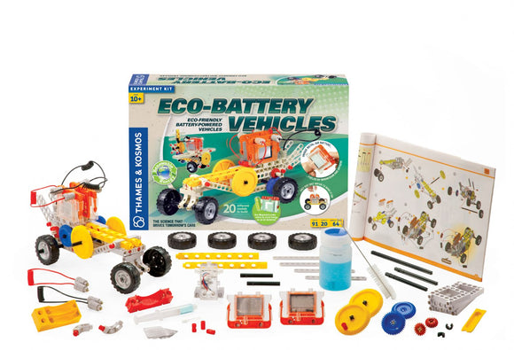 THAMES & KOSMOS® Eco-Battery Vehicles Experiment Kit – Clearance