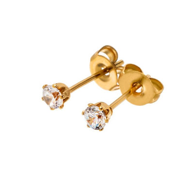 Edblad Crown Studs Mini - Gold plate