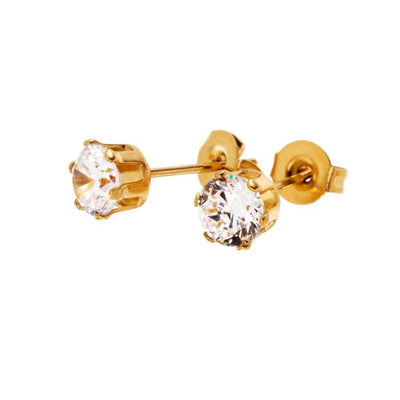 Edblad Crown Studs - Gold