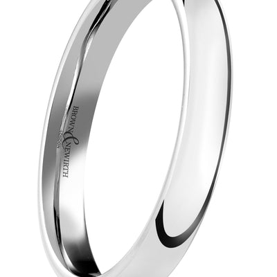 B&N Sleek Wedding Band
