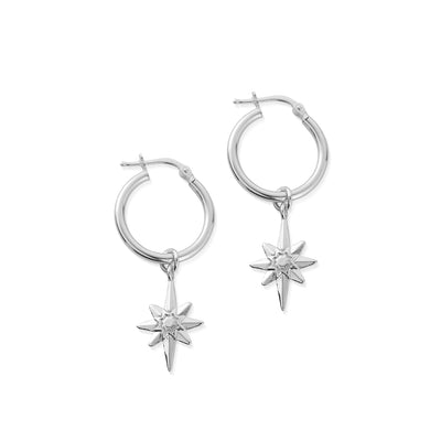 Splendid Star -Lucky Star Hoop Earrings