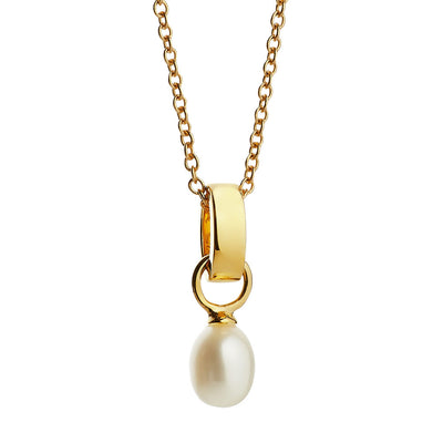 Viva yellow gold pendant