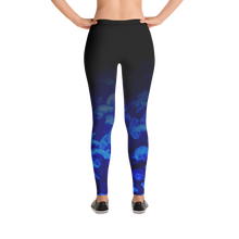 Load image into Gallery viewer, Jellyfish Bloom Scuba Leggings Mockup