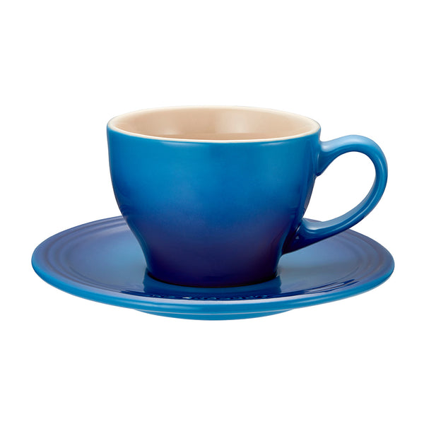 Le Creuset Stoneware Espresso Cups, Set of 2 - Blueberry