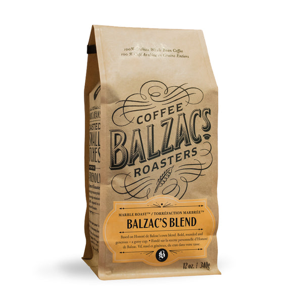 Balzac's Coffee Roasters Balzac's Blend Whole Bean Coffee 12oz
