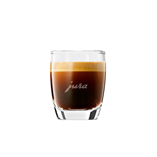 Jura Glass Espresso Cups 2.5 oz, Set of 2