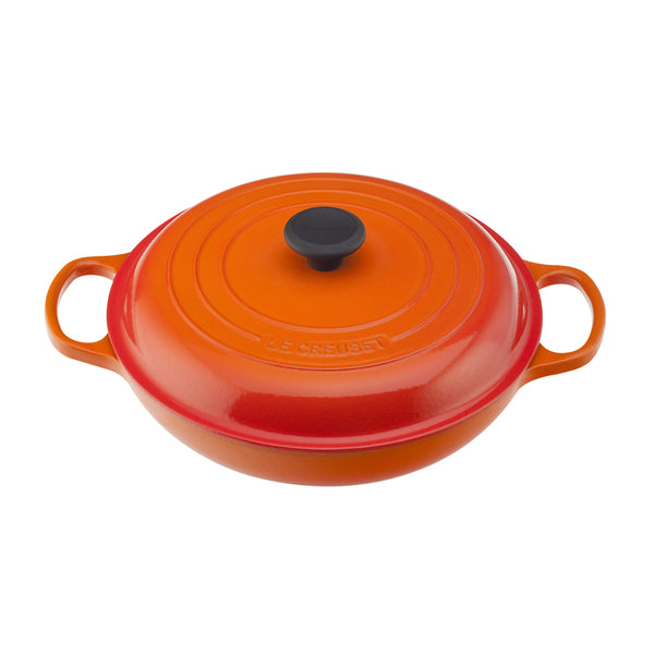 Le Creuset Signature Cast-Iron Braiser 3.2L - Flame