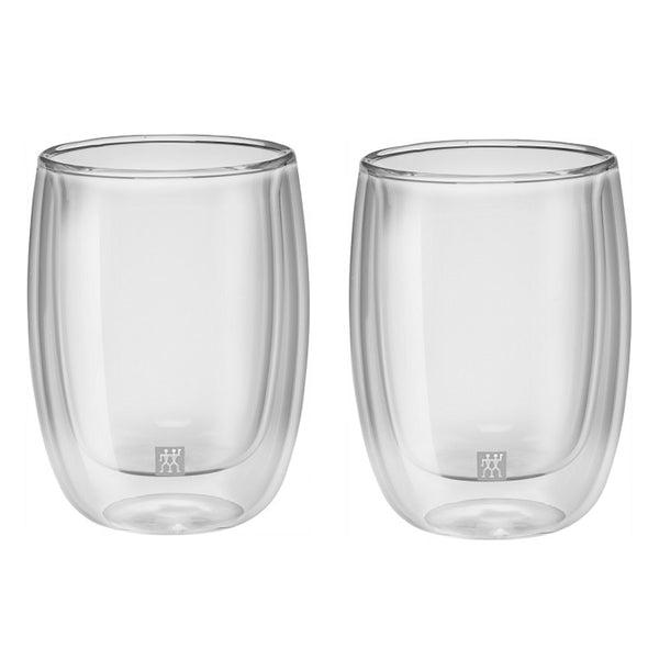 Zwilling Sorrento Double Wall Coffee Glass 6.7 oz, Set of 2