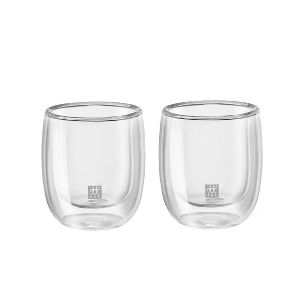 Zwilling Sorrento Double Wall Espresso Glass 2.7 oz., Set of 2