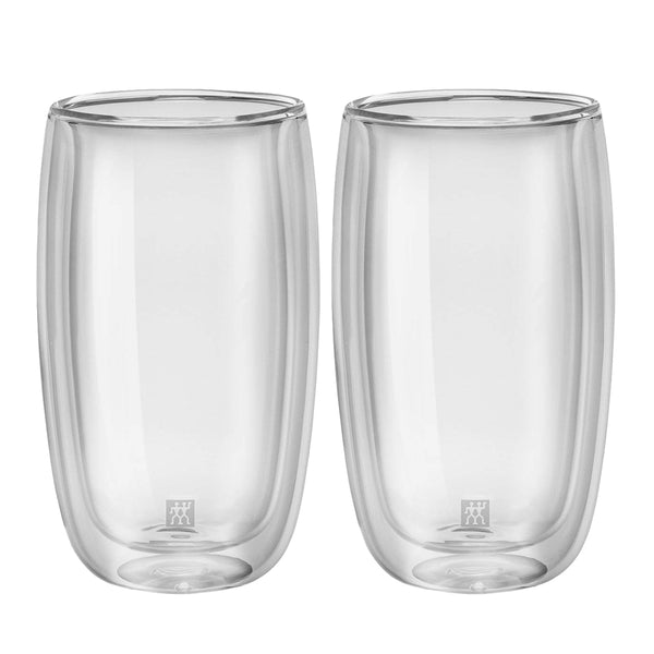 Zwilling Sorrento Double Wall Latte Glass 11.8 oz., Set of 2